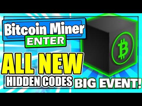 Bitcoin Miner (OCTOBER 2021) CODES *HALLOWEEN* ALL NEW ROBLOX Bitcoin Miner CODES!