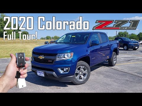2020 Chevy Colorado Z71 | Full Tour + Changes For 2020!