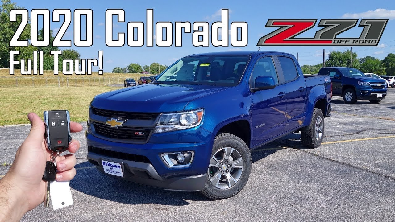 2020 Chevy Colorado Z71 | Full Tour + Changes for 2020 ...
