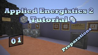 Applied Energistics 2 Tutorial - Episode 1 - Exploration & Preparation