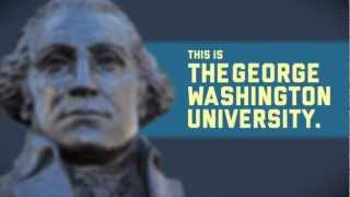 This is The George Washington University