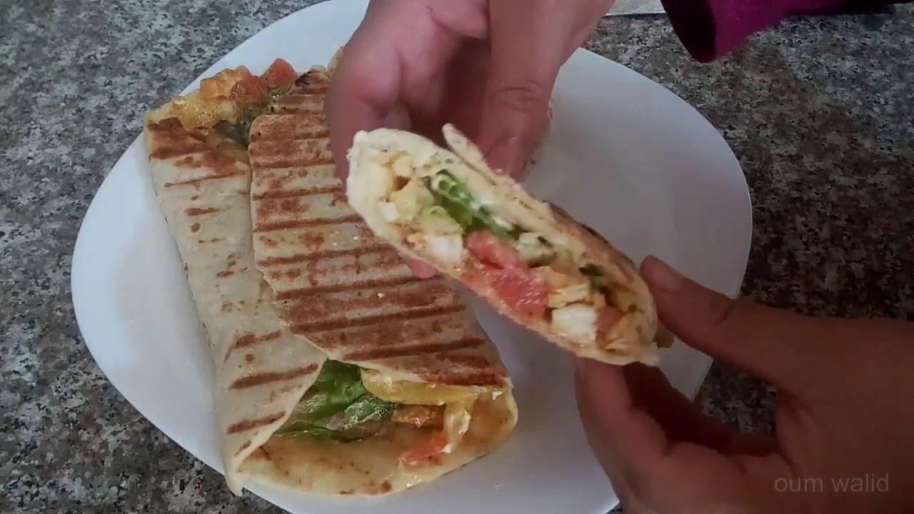 شهيوات ام وليد اروع شوارما و خبز الشوارما. Oum Walid