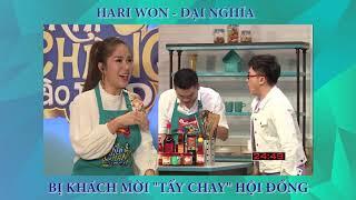 """Hari Won - Đại Nghĩa bị """"tẩy chay"""" hội đồng   Khi Chàng Vào Bếp: Tập 12 (25/09/2018)"""