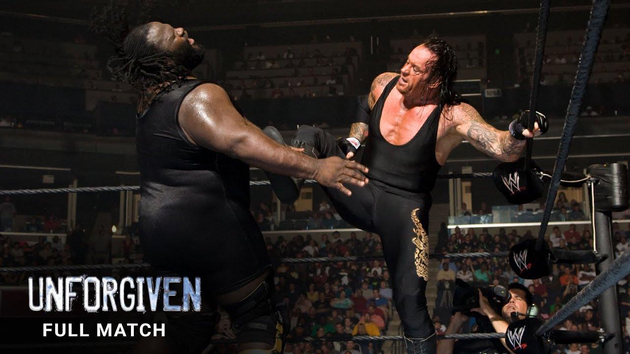 Download FULL MATCH - Undertaker vs. Mark Henry: WWE Unforgiven 2007