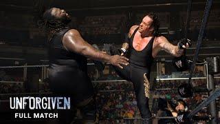 FULL MATCH - Undertaker vs. Mark Henry: WWE Unforgiven 2007
