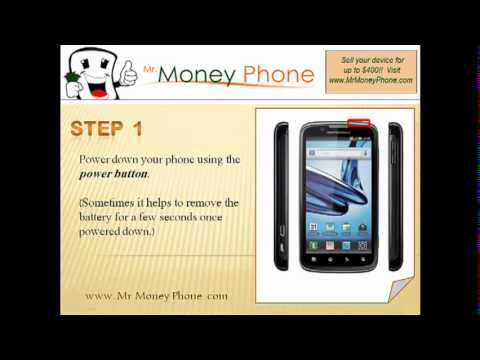 HARD RESET Motorola Atrix 2 (external) Master Reset (RESTORE to FACTORY condition) Video