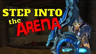 Step Into The Arena Pt. 1 | General Overview w/Commentary & Games | PvP Hunter 2v2 Guide WoD 6.2