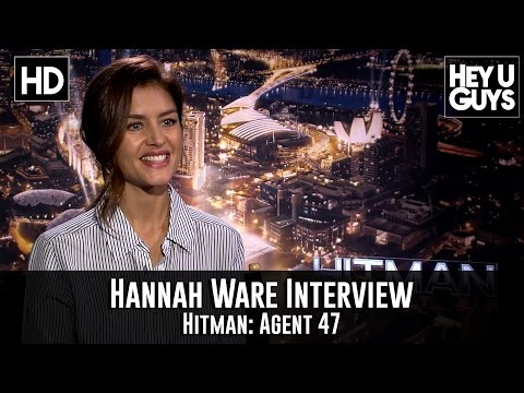 Hannah Ware Exclusive Interview - Hitman: Agent 47