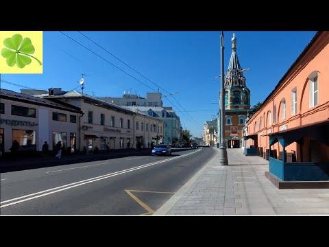 Москва. Прогулка по улице Большая Полянка (Bolshaya Polyanka Street) 04.06.2019