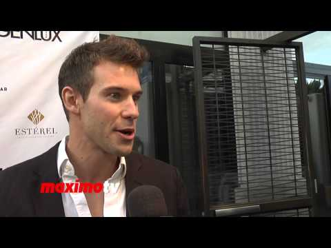 Zane Stephens  Genlux Magazine Release Party with Cover Girl