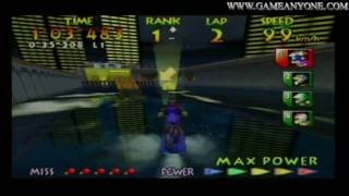 Wave Race 64 - [N64 - HD] - Twilight City - [Expert]
