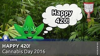 420 - April 20 aka 4-20 Day - Worldwide Cannabis Day 2016 - Smokers Guide TV International