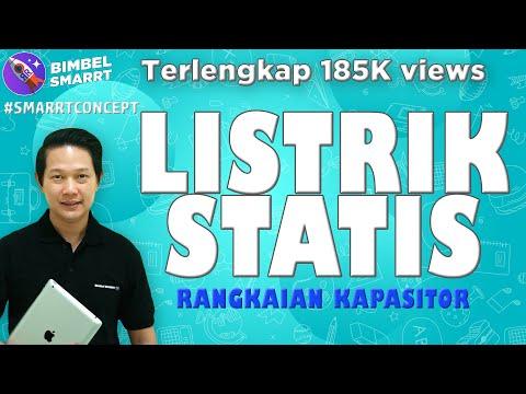 LISTRIK STATIS & KAPASITOR - SIMPLE KONSEP - FISIKA KELAS 12 (Ayo download Bimbel SMARRT Apps)