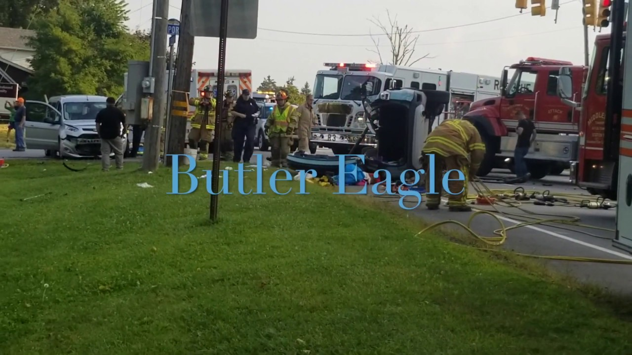 Multiple people injured at Route 8 crash in Butler County, PA