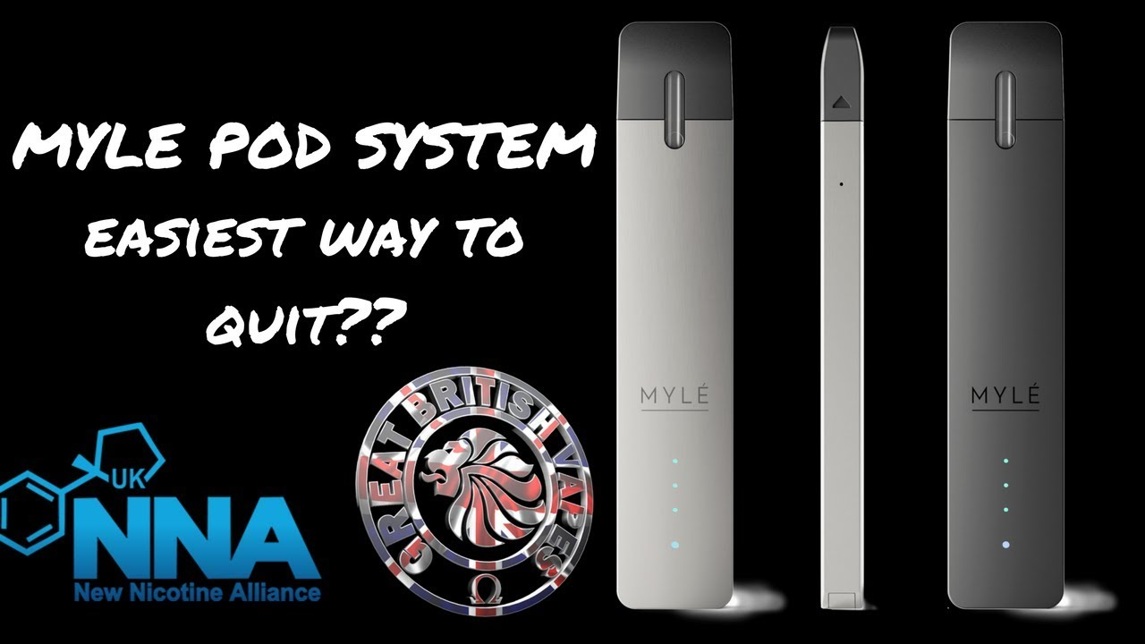 Myle Pod System Easiest Way To Quit The Stinkies??~GBV Review