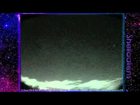 Perseids Meteor Shower 2014 Compilation (Aug. 11 - 13)