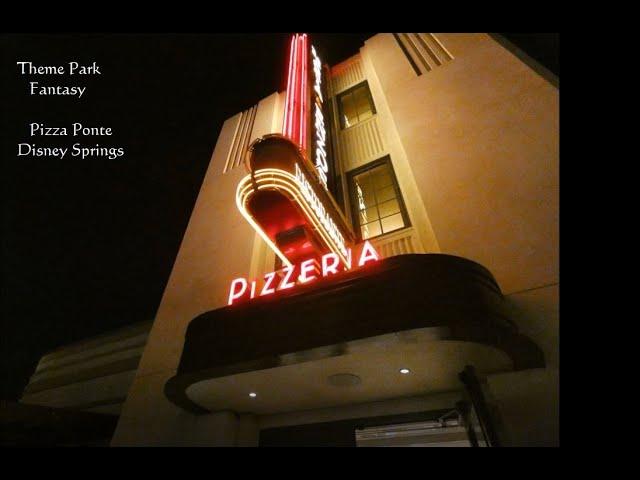 Pizza Ponte Quick Serve Pizza at Disney Springs