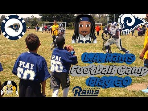 L.A. Rams Football Camp Play 60