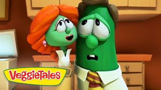 VeggieTales | Where Have All The Staplers Gone | Silly Songs With Larry | Videos For Kids