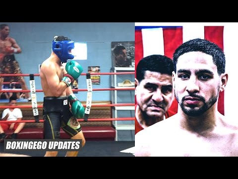 Danny Garcia BACK in TRAINING CAMP, Berto fight likely OFF, Amir Khan wants Rematch (Boxingego)