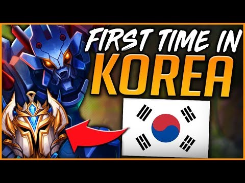 FIRST TIME IN KOREAN SOLO QUEUE | TOP NA JUNGLER KR ROAD TO CHALLENGER