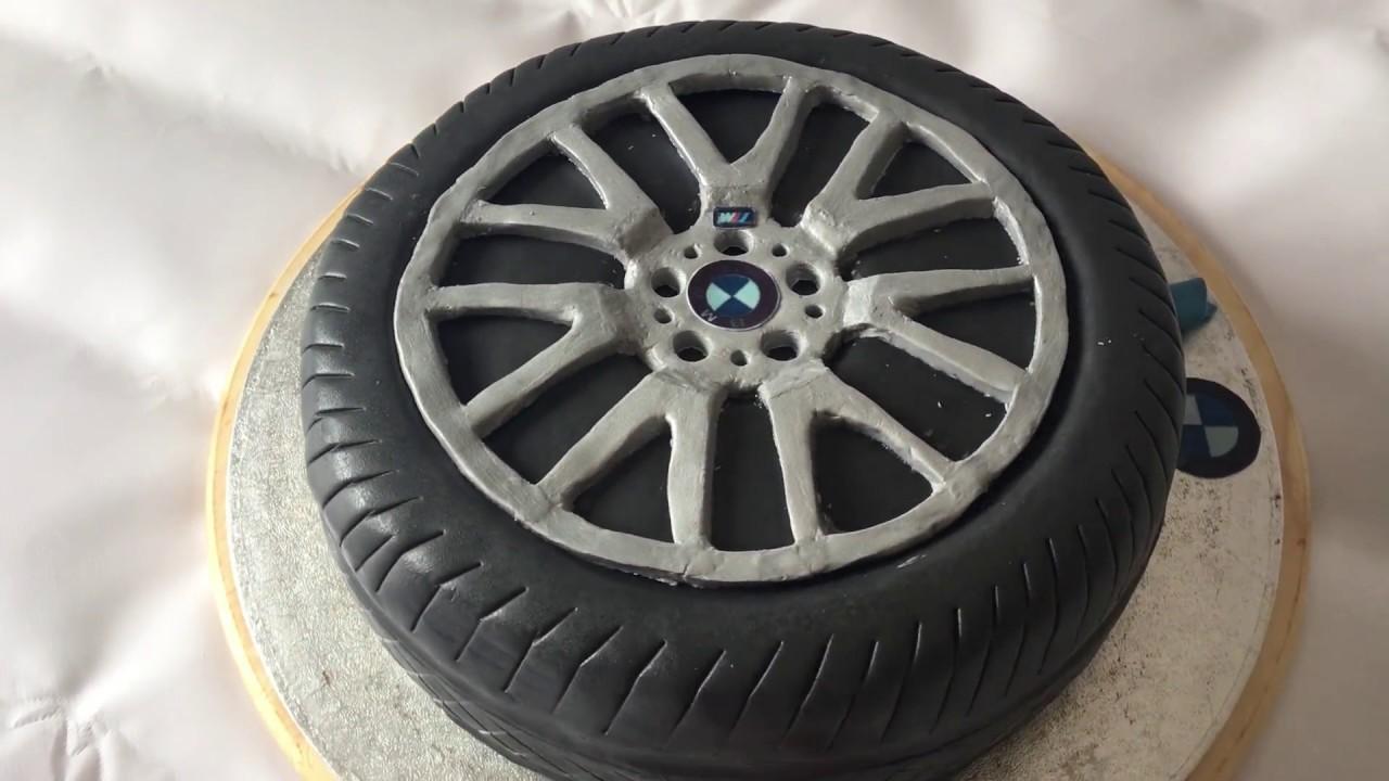 Tyre Cake Youtube