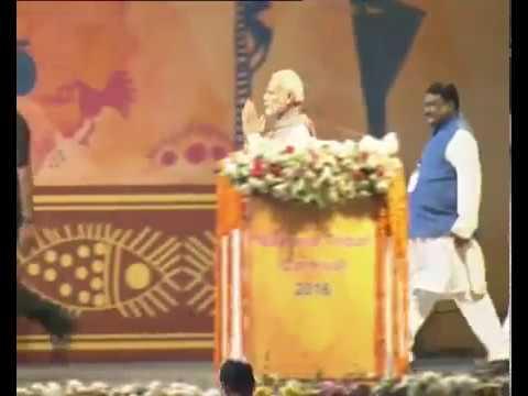 PM Shri Narendra Modi inaugurates National Tribal Carnival-2016 at IP Estate in New Delhi