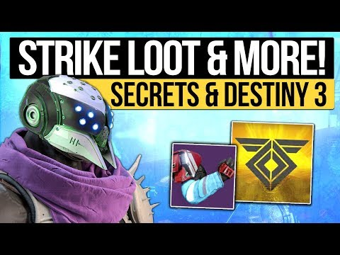 Destiny 2 News | STRIKE SPECIFIC'S RETURN! - Maintenance, Future Loot & Destiny 3 in Development!