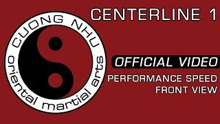 Cuong Nhu Centerline 1 - Official Kata - Performance Speed - Front View