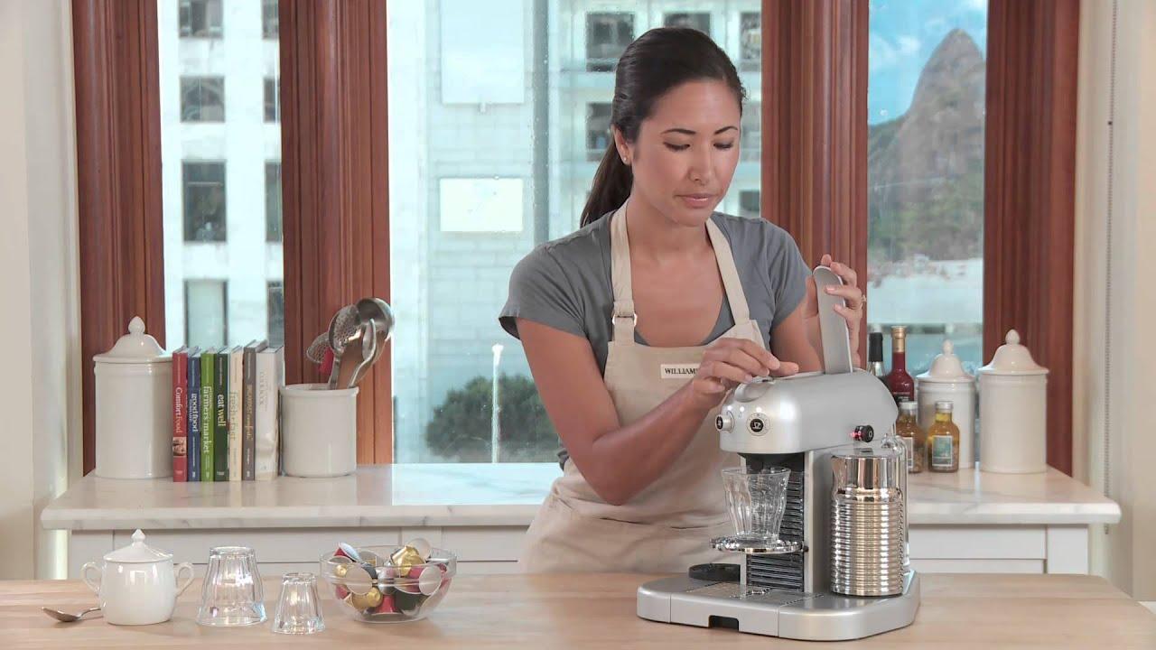 Nespresso Gran Maestria Espresso Maker Youtube