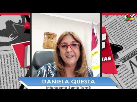 Daniela Qüesta: Necesitamos asegurarnos de que los santotomesinos se vacunen en Santo Tomé