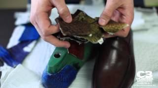 ВидеоОбзор#6 Крокодиловый краст - полуфабрикат натуральной кожи крокодила