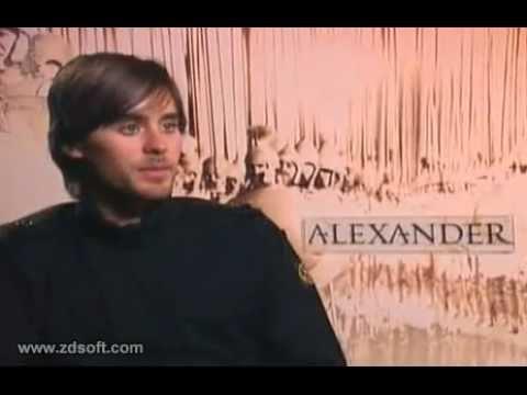 Jared Leto - Alexander interview