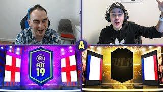 CO TUTAJ SIĘ STAŁO?! SZALONY PACK AND PLAY! ADRYAN VS XENQ | FIFA 19