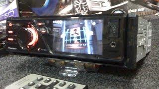"PIONEER DVH-7380AV DVD player USB 3"" LCD 1 DIN"
