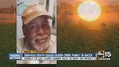 Sinkhole death leaves Queen Creek family in shock