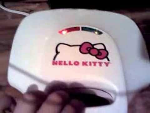 8ee0e4880f Hello kitty sandwich maker review - YouTube