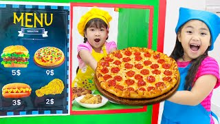 Annie Pretend Play with Fast Food Drive Thru Kitchen and Cooking Toys for Kids