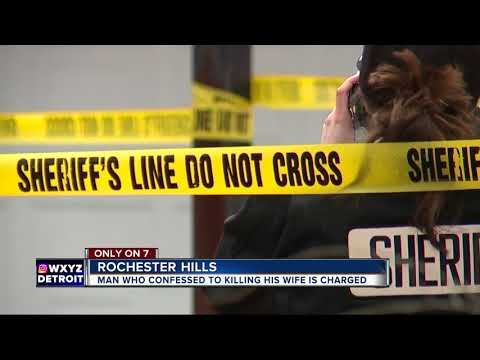 Husband charged with killing his wife at Rochester Hills home, said she was having affair