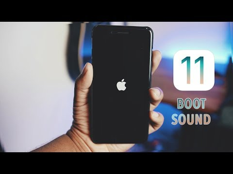 iOS 11 New Boot Sound // The feature no one is talking about