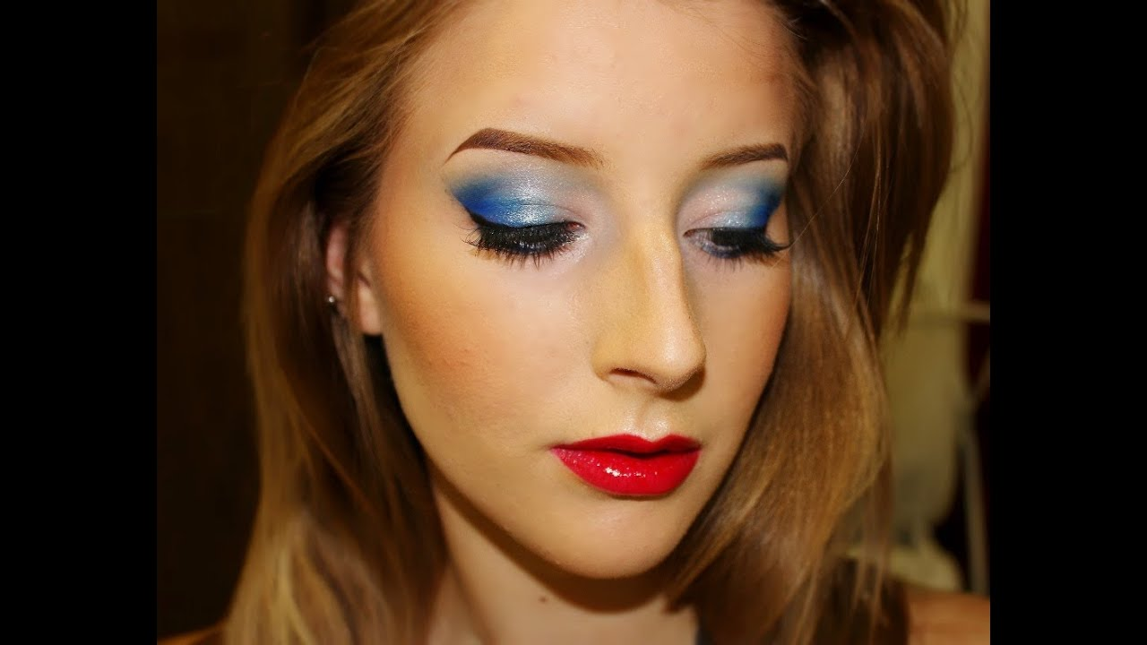 Fourth of july makeup tutorial urban decay electric palette fourth of july makeup tutorial urban decay electric palette youtube baditri Image collections