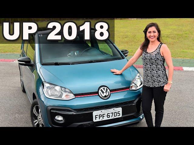 Novo VW UP TSI 2018 Connect Turbo em Detalhes