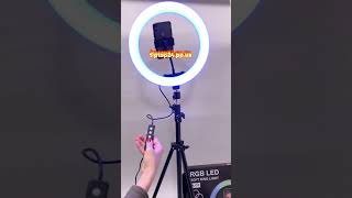 Обзор- Кольцевая лампа 33см