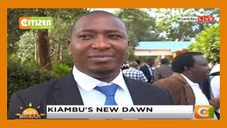 James Nyoro to be sworn in as Kiambu Governor