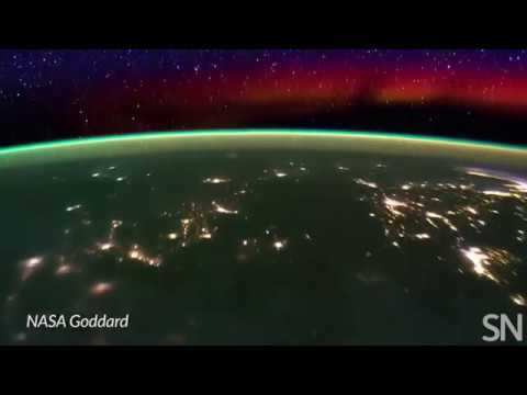 See Earth's ionosphere from the ISS | Science News