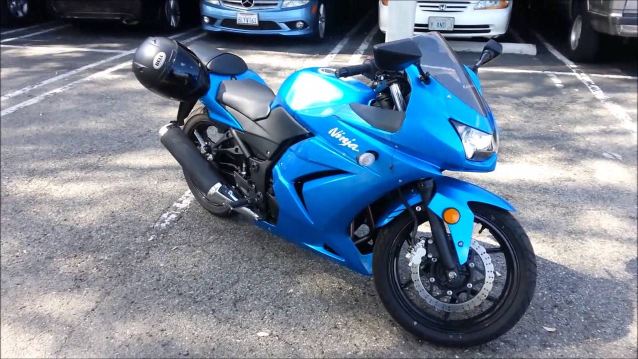 2010 Kawasaki Ninja 250R Review - YouTube
