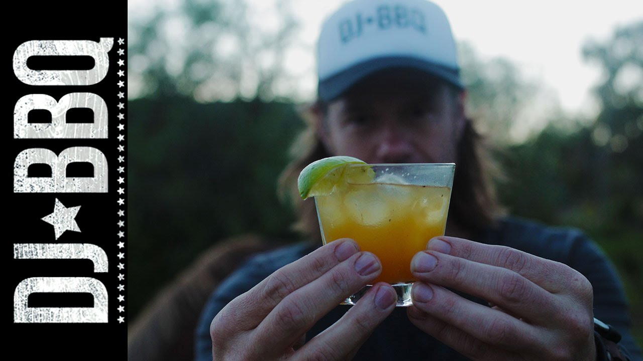 Pineapple Daiquiri Cocktail | DJ BBQ - YouTube