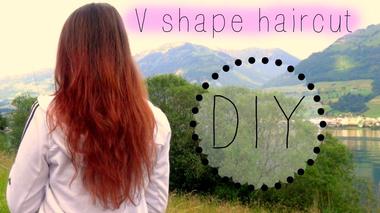 DIY V Shape And Steps Haircut || KweziSLife   YouTube