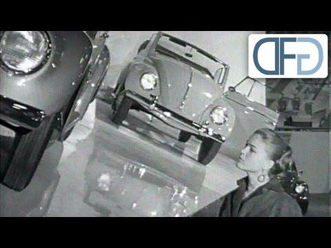IAA 1957 - Opel Kapitän de Luxe | Borgward Isabella | VW Käfer | Goliath 1100 Luxus (1/3)