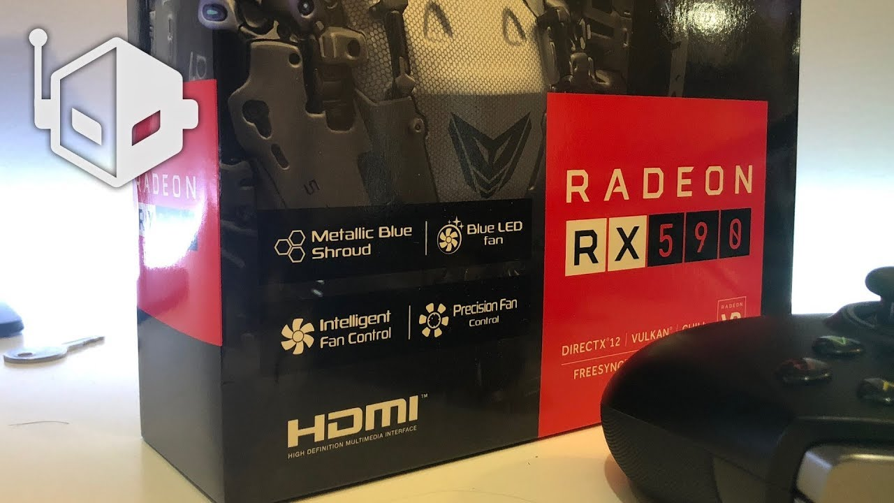SAPPHIRE Nitro+ Special Edition Radeon RX 590 First Look
